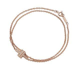Tiffany & Co Two Double Chain bracelet
